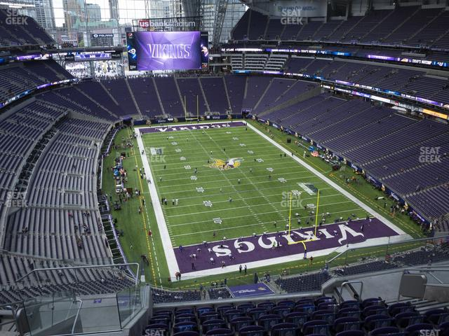 U.S. Bank Stadium Section 329 view