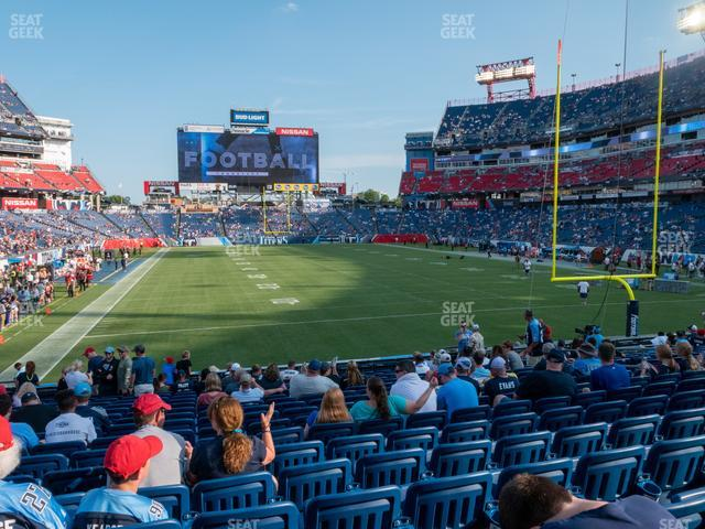 Nissan Stadium Section 102 view