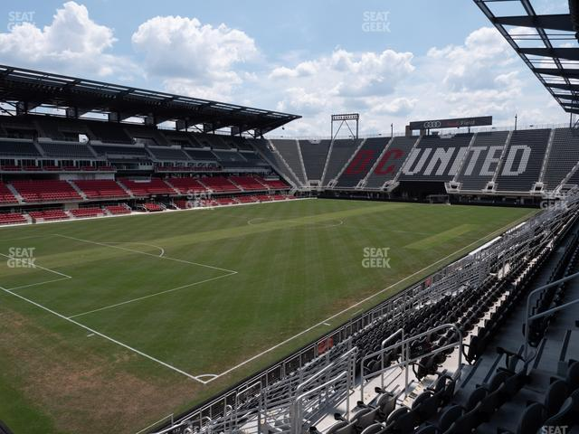 Audi Field Section 132 view