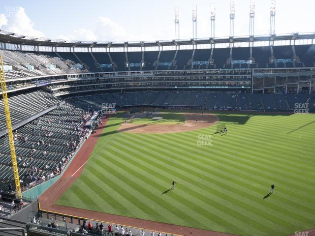 Progressive Field Section 409 view