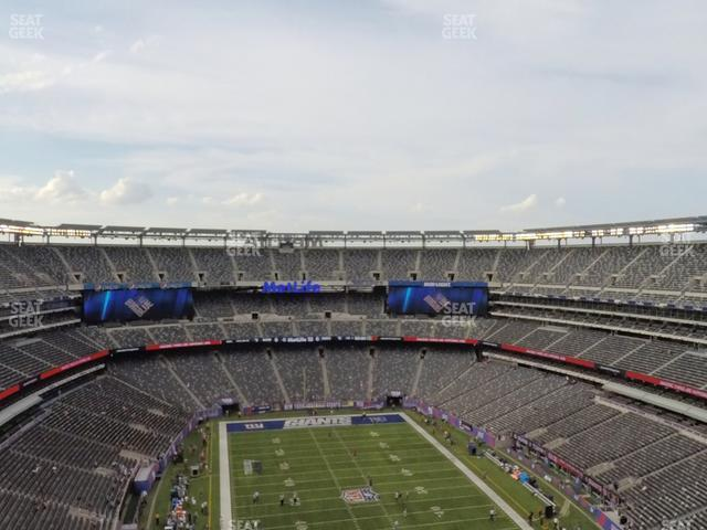MetLife Stadium Section 328 view