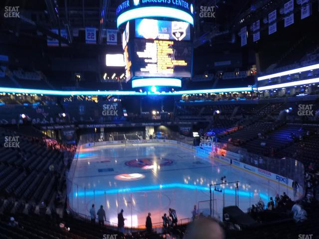 Barclays Center Section 117 view
