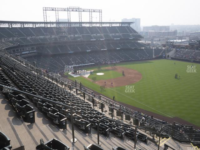 Coors Field Upper 314 view