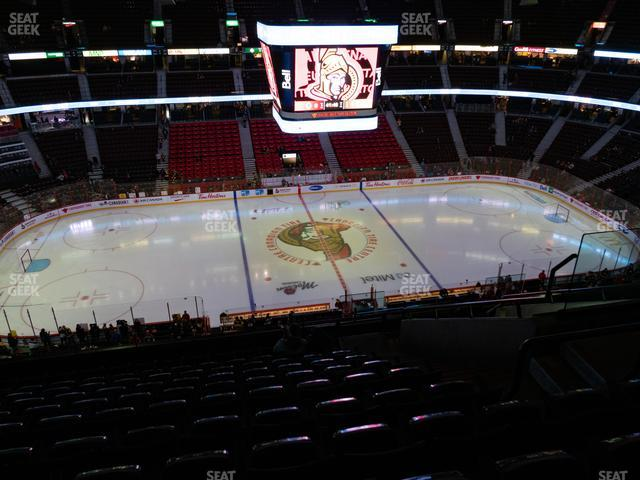 Canadian Tire Centre Section 309 view