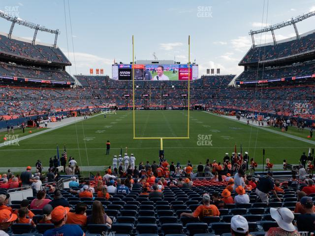Empower Field at Mile High Section 114 view