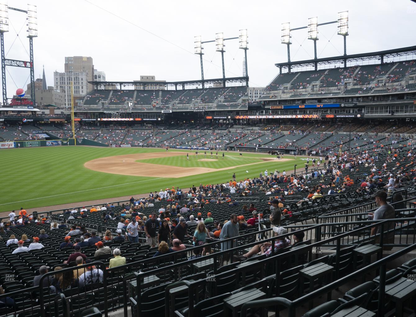 Comerica Park Section 139 Seat Views | SeatGeek