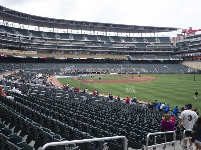 Target Field Section 101 view