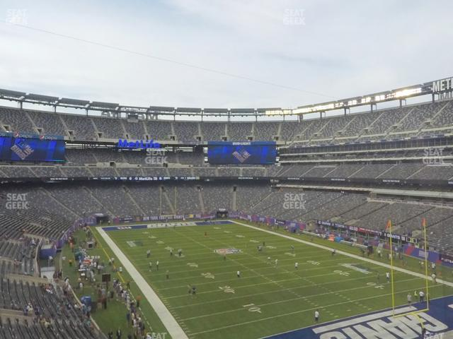 MetLife Stadium Section 230 A view