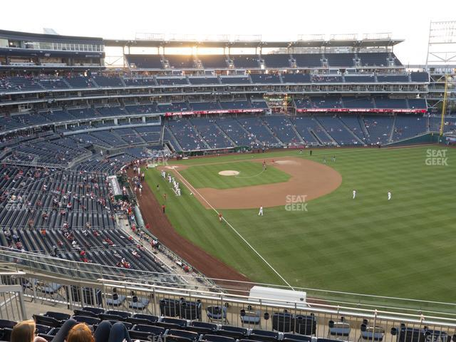 Nationals Park Section 230 view