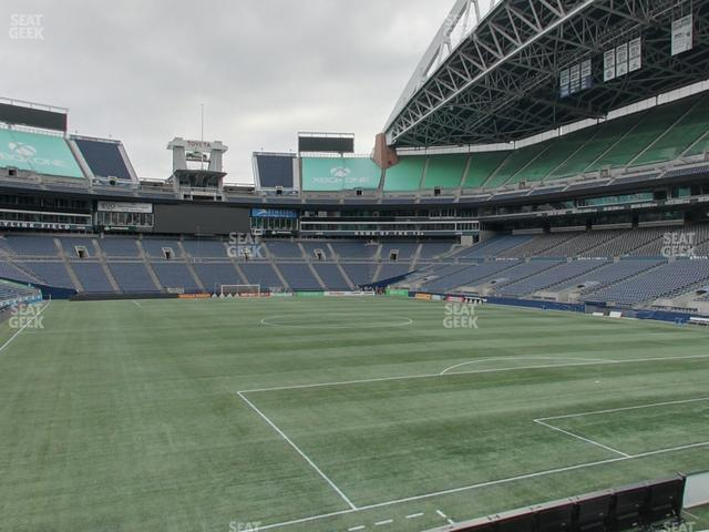 CenturyLink Field Section 151 view