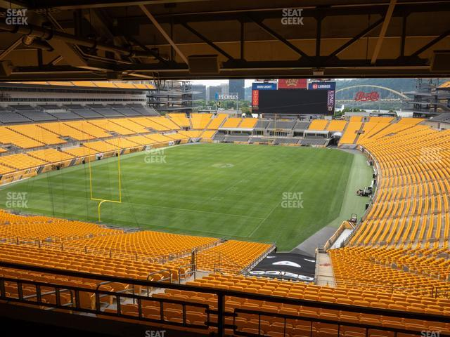 Heinz Field North Club 011 view