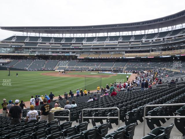 Target Field Section 127 view
