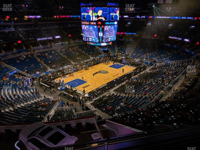 Amway Center Section 229 view