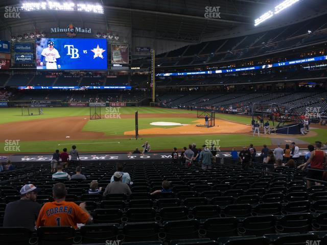 Minute Maid Park Section 113 view