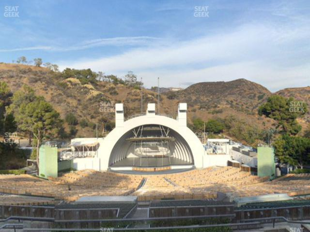 Hollywood Bowl Section N 1 view