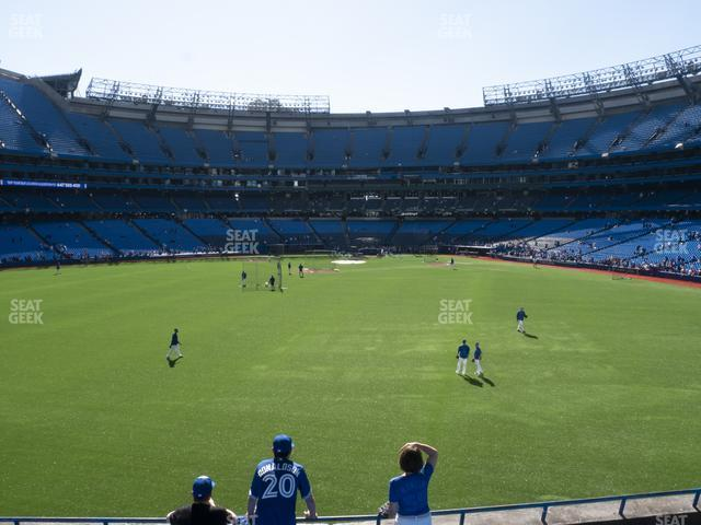 Rogers Centre Section 141 L view