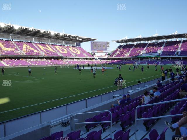 Exploria Stadium Section 20 view