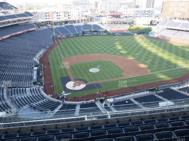 Nationals Park Section 416 view