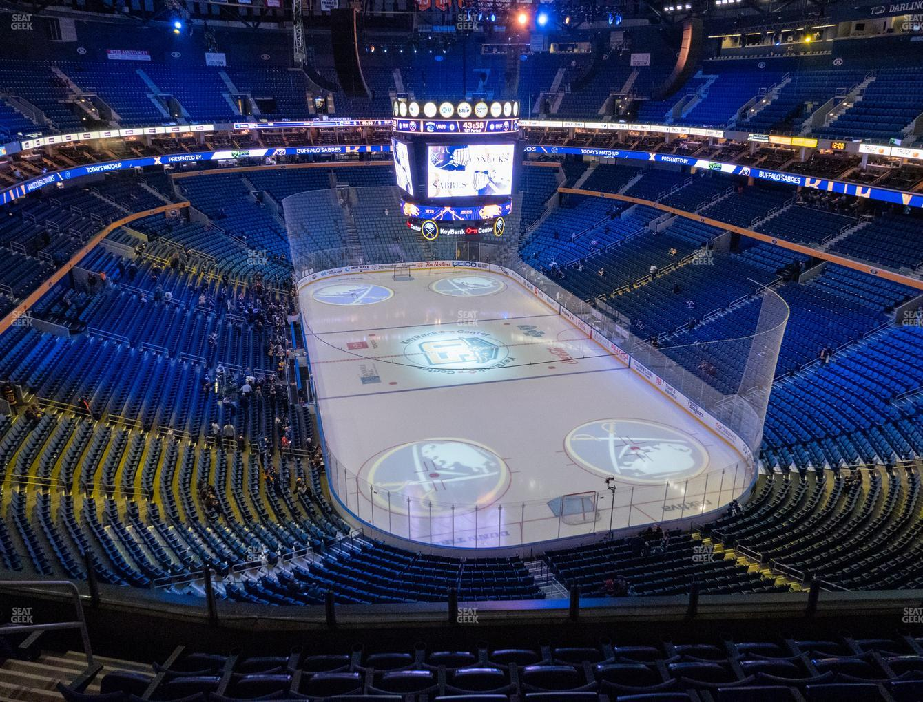 Buffalo Sabres at KeyBank Center Section 300 View