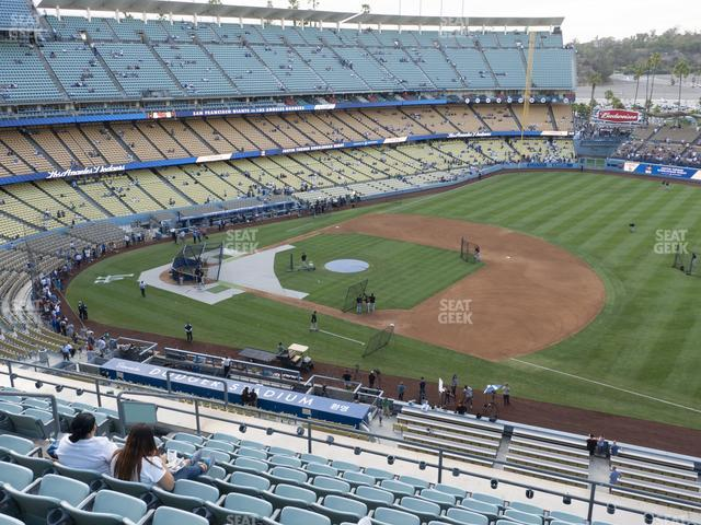Dodger Stadium Reserve 28 view