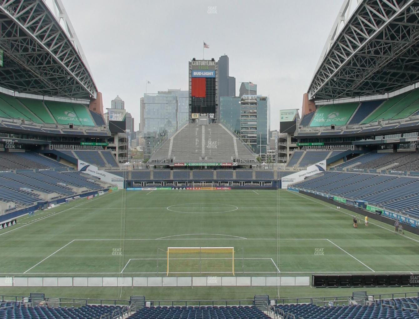 Seattle Sounders FC at CenturyLink Field GA Supporter View