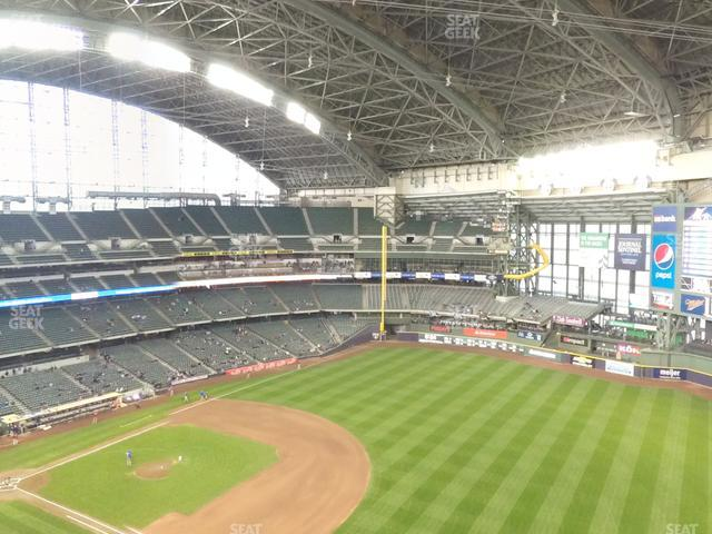 Miller Park Section 410 view