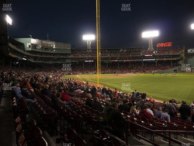 Fenway Park Right Field Box 91 view