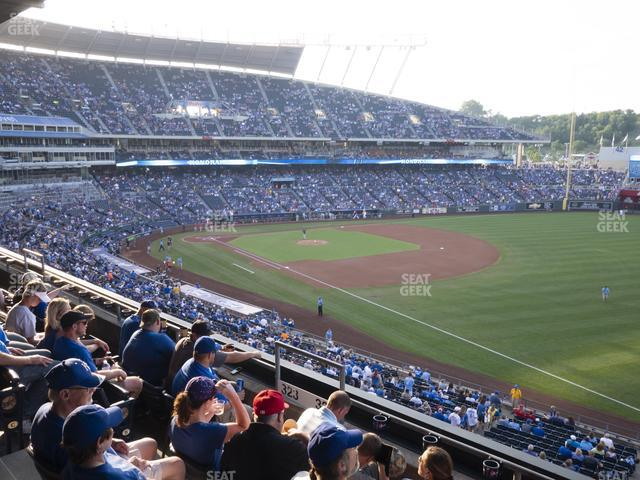 Kauffman Stadium Section 324 view