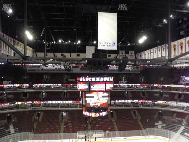 United Center Section 301 view