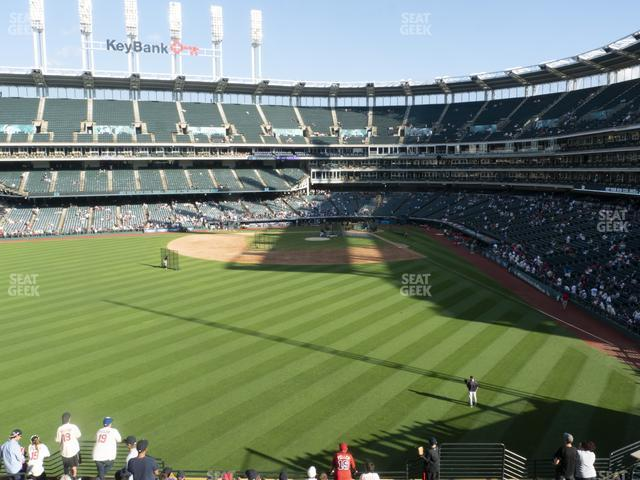 Progressive Field Section 181 view
