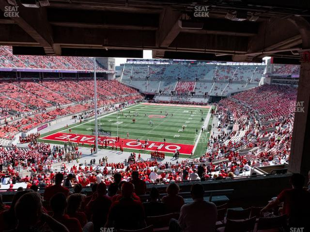Ohio Stadium Section 3 B view