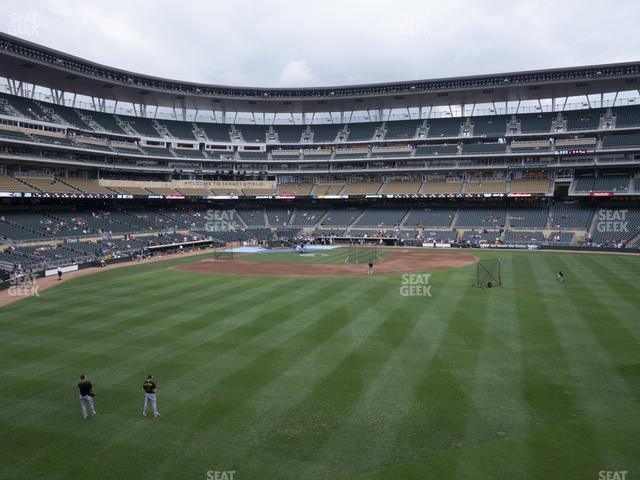 Target Field Section 134 view
