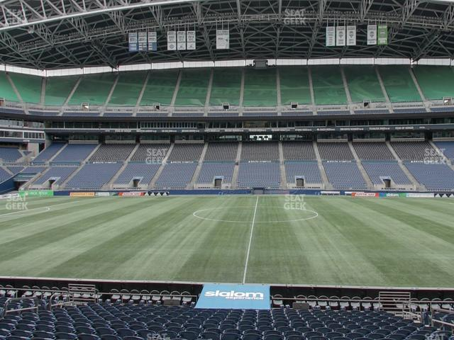 CenturyLink Field Section 109 view
