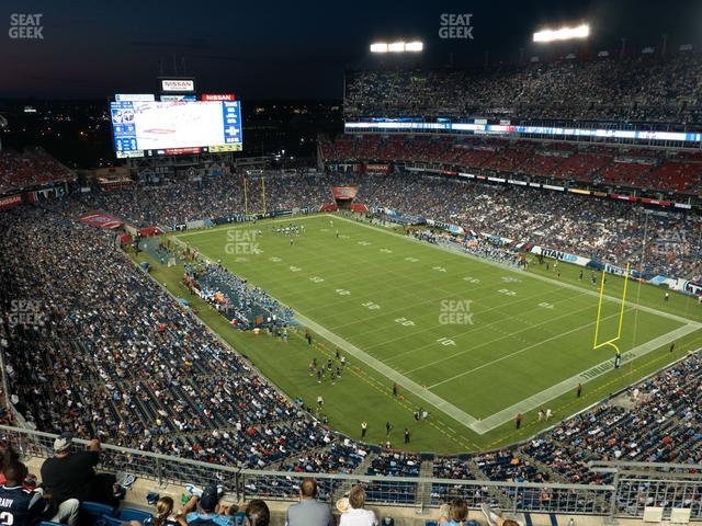 Nissan Stadium Section 327 view