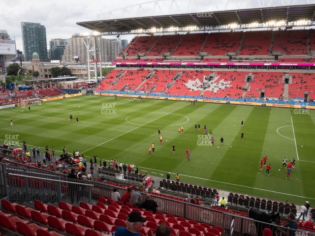 BMO Field Section 221 view
