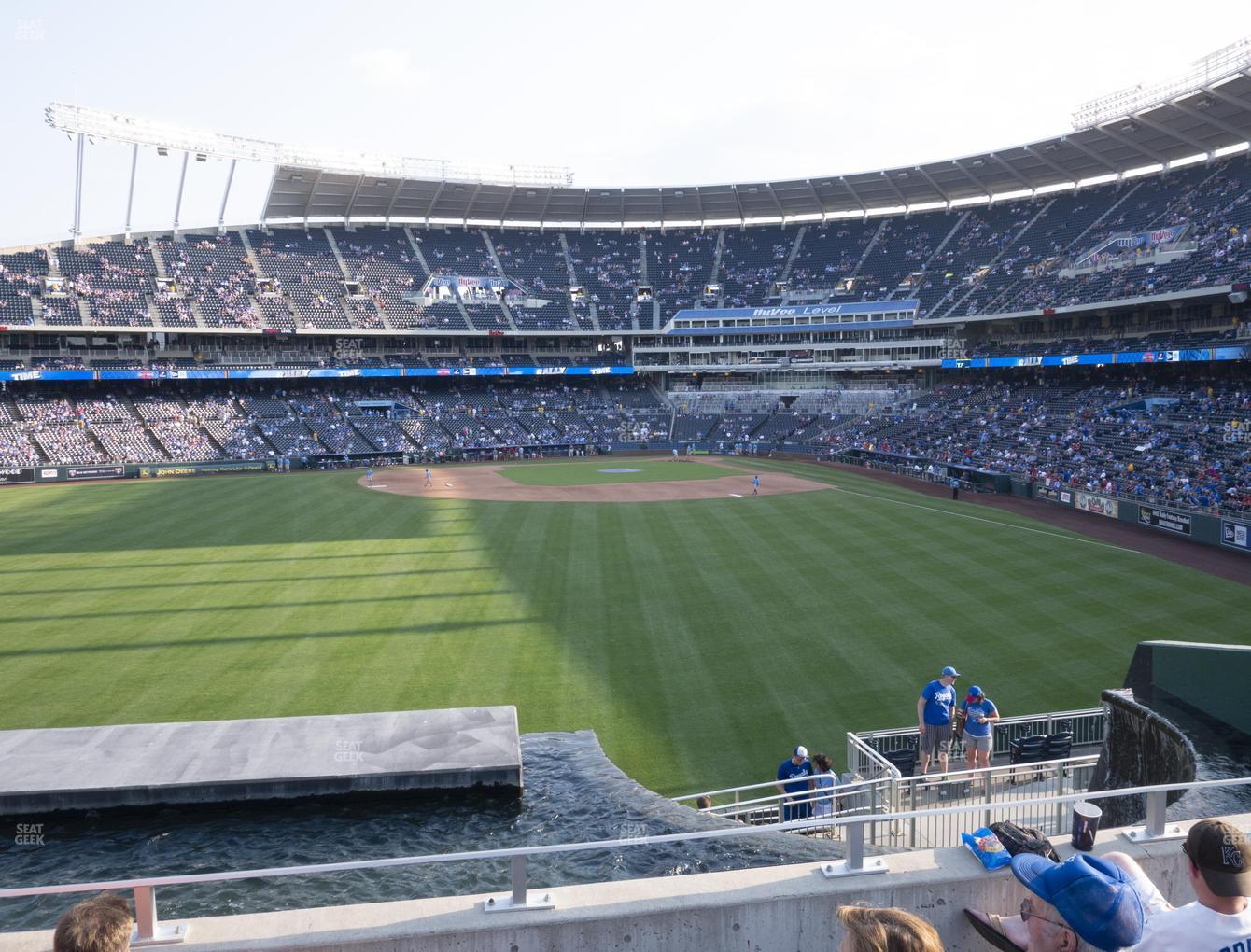 Kansas City Royals at Kauffman Stadium Section 202 View