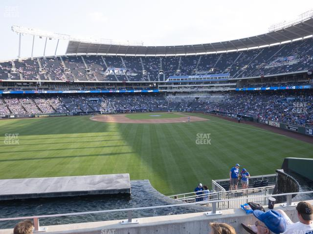 Kauffman Stadium Section 202 view