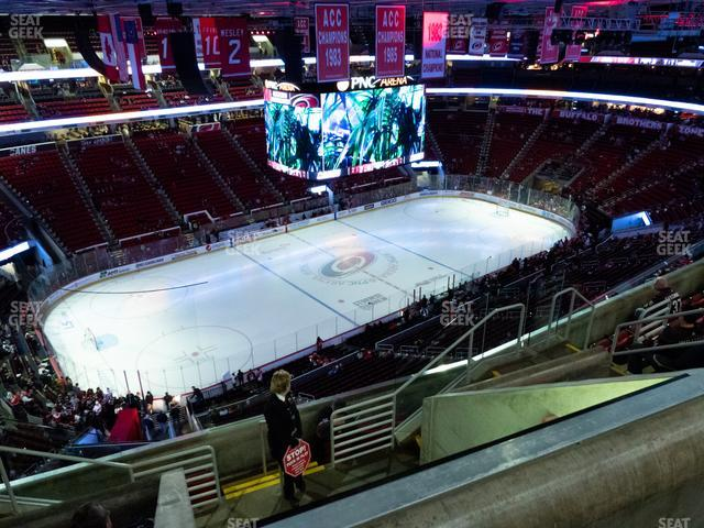 PNC Arena Section 327 view