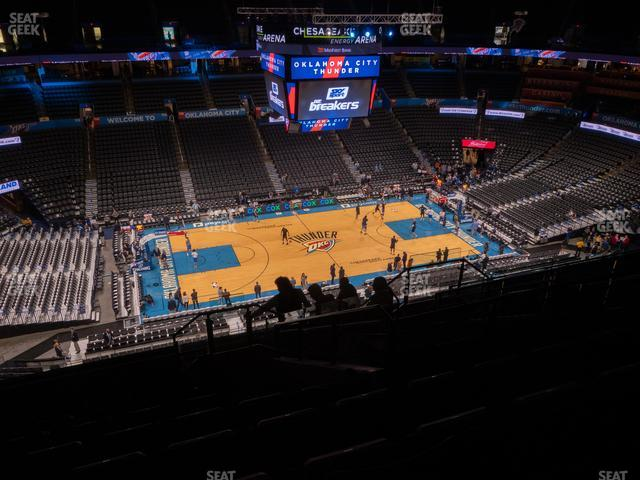 Chesapeake Energy Arena Section 310 view