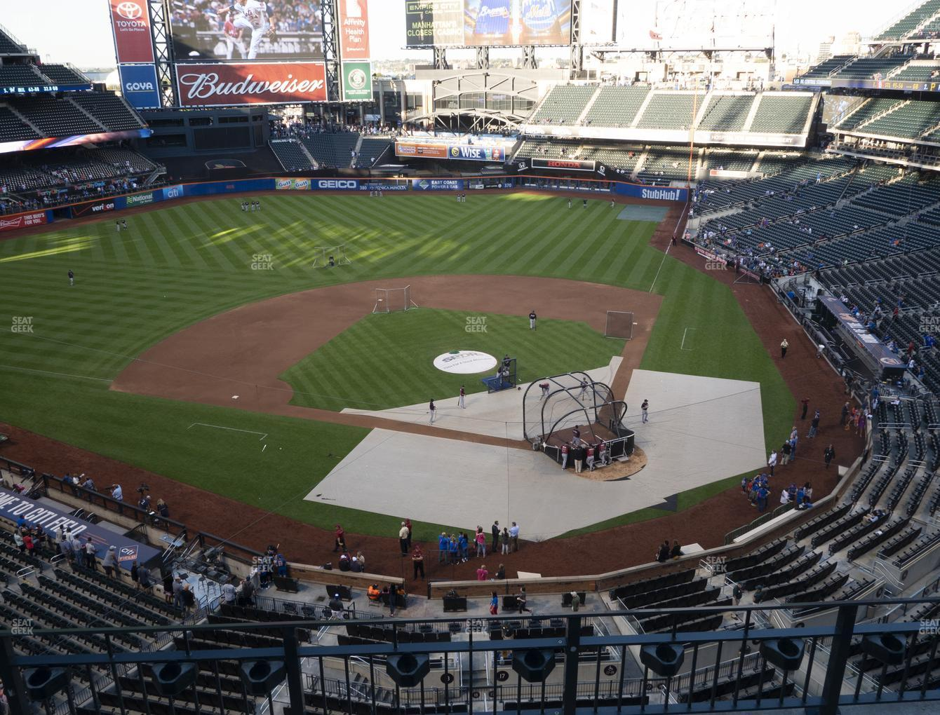 New York Mets at Citi Field Section 418 View