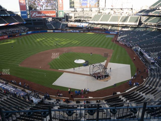 Citi Field Section 418 view