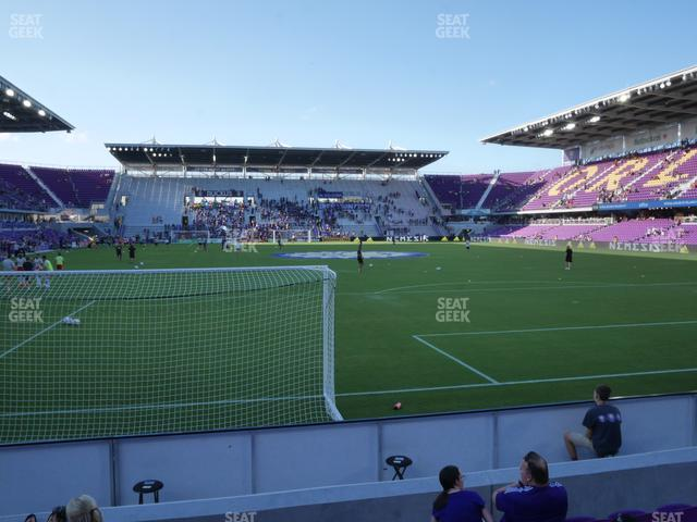 Exploria Stadium Section 5 view