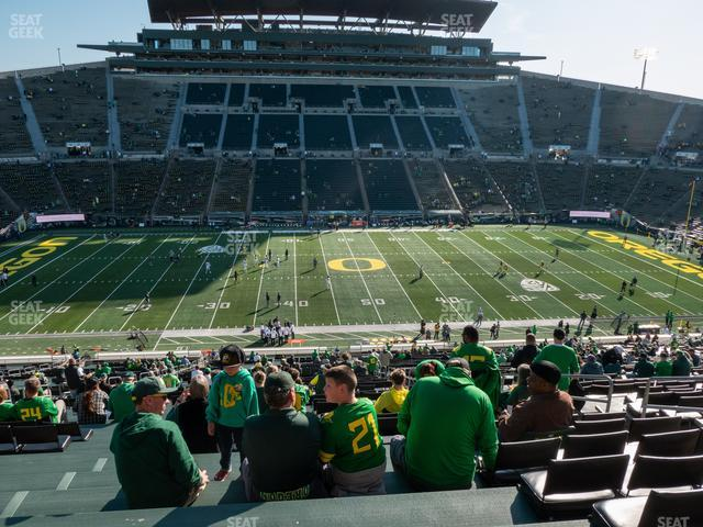 Autzen Stadium SRO 12 view
