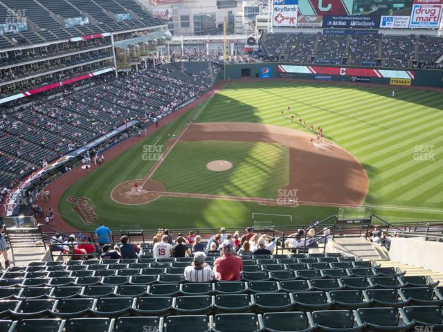 Progressive Field Section 546 view