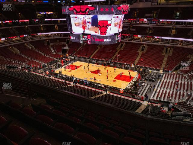 United Center Section 332 view