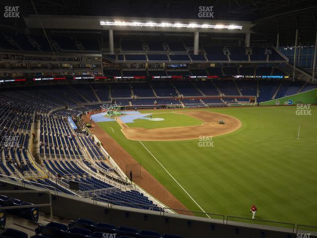 Marlins Park Seating Chart Map Seatgeek