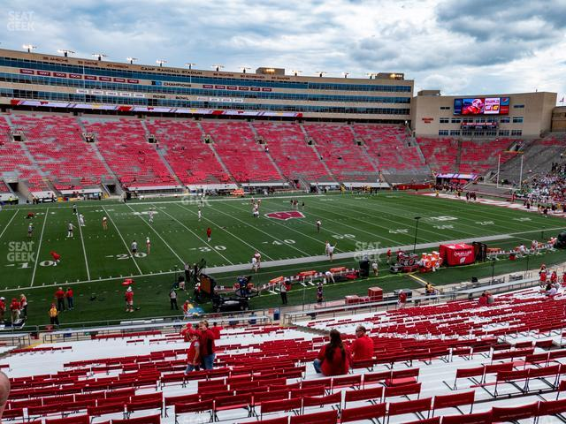Camp Randall Stadium Section G view