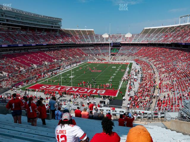 Ohio Stadium Section 36 B view
