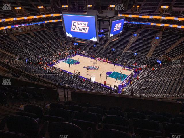 Vivint Smart Home Arena Section 128 view