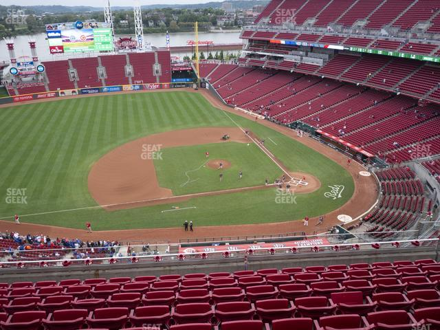 Great American Ball Park Section 517 view